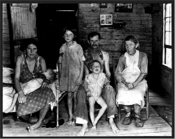 Bud Fields and his family, Alabama