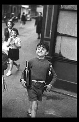 Henri-Cartier-Bresson-Rue Mouffetard