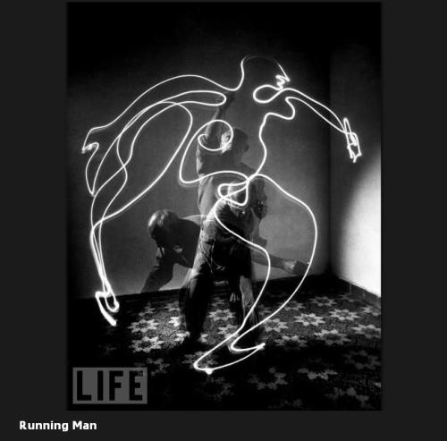 Picasso Life uomo che corre