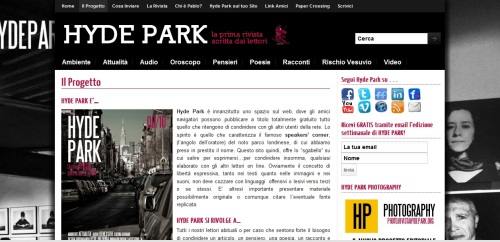 rivista Hyde Park