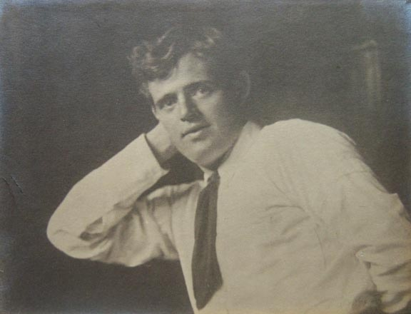 Jack London by Arnold Genthe