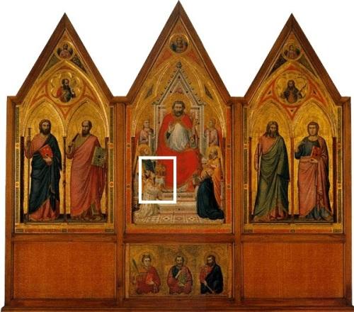 Giotto, Trittico Stefaneschi