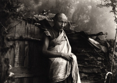 Lobsang Tenzing, Dharamsala, 1981 by Richard Gere