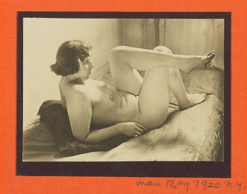 Female nude - Man Ray