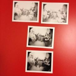 Alcune pinolaroids scattate con amici fotografi