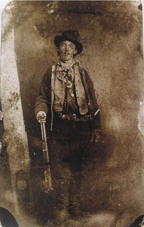 Il ritratto di Billy the Kid