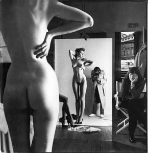 Helmut Newton selfie