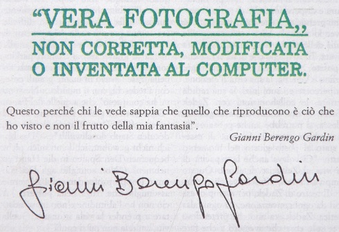 Gianni Berengo gardin timbro