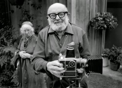 Ansel Adams e Imogen Cunnighmam - Copyright Alan Ross
