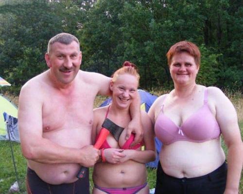 Famiglia inquietante