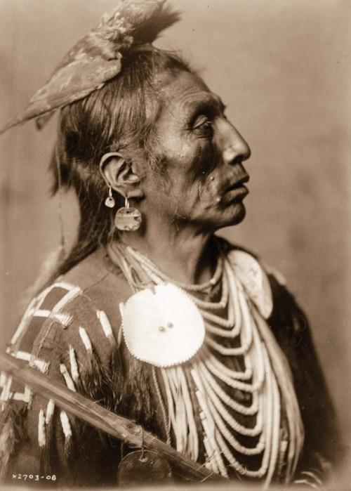 Medico della tribù dei Corvi, 1908