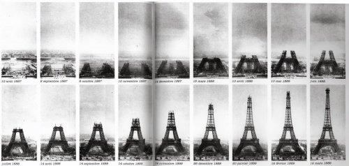 Eiffel cantiere